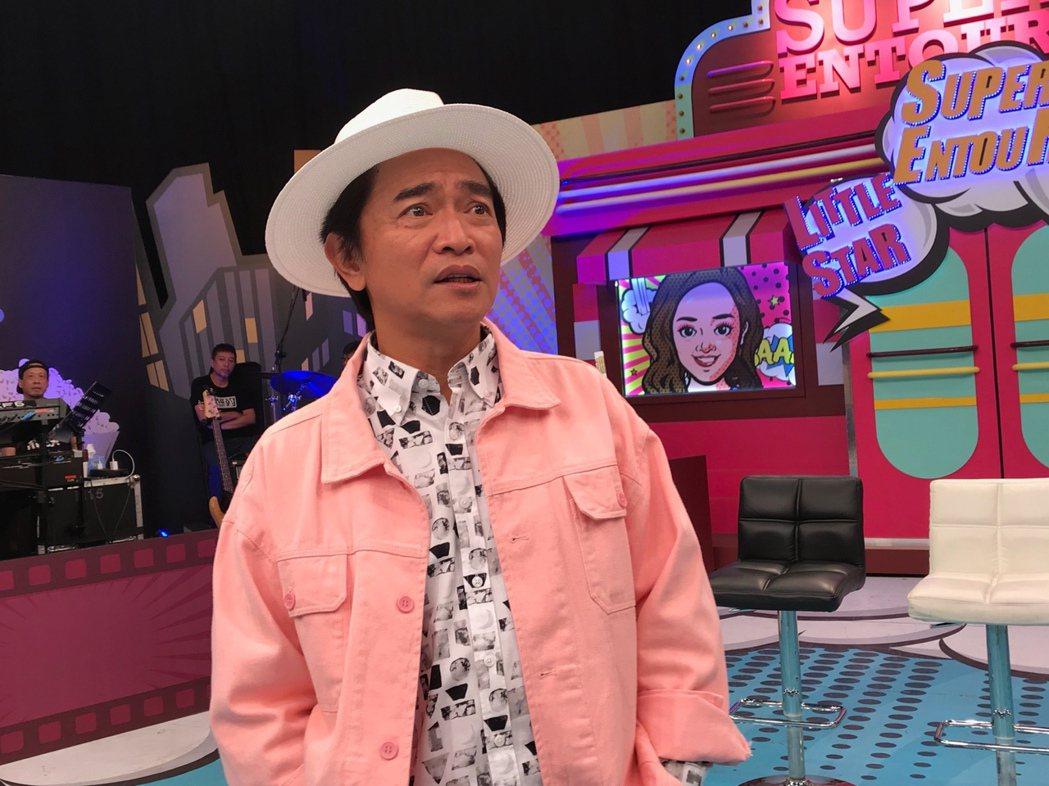 吳宗憲對於金鐘獎已胸有成竹。記者李姿瑩/攝影