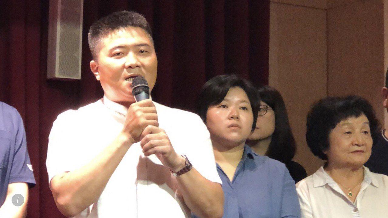 立委顏寬恒將接任韓國瑜競總的副執行長。記者陳秋雲/攝影
