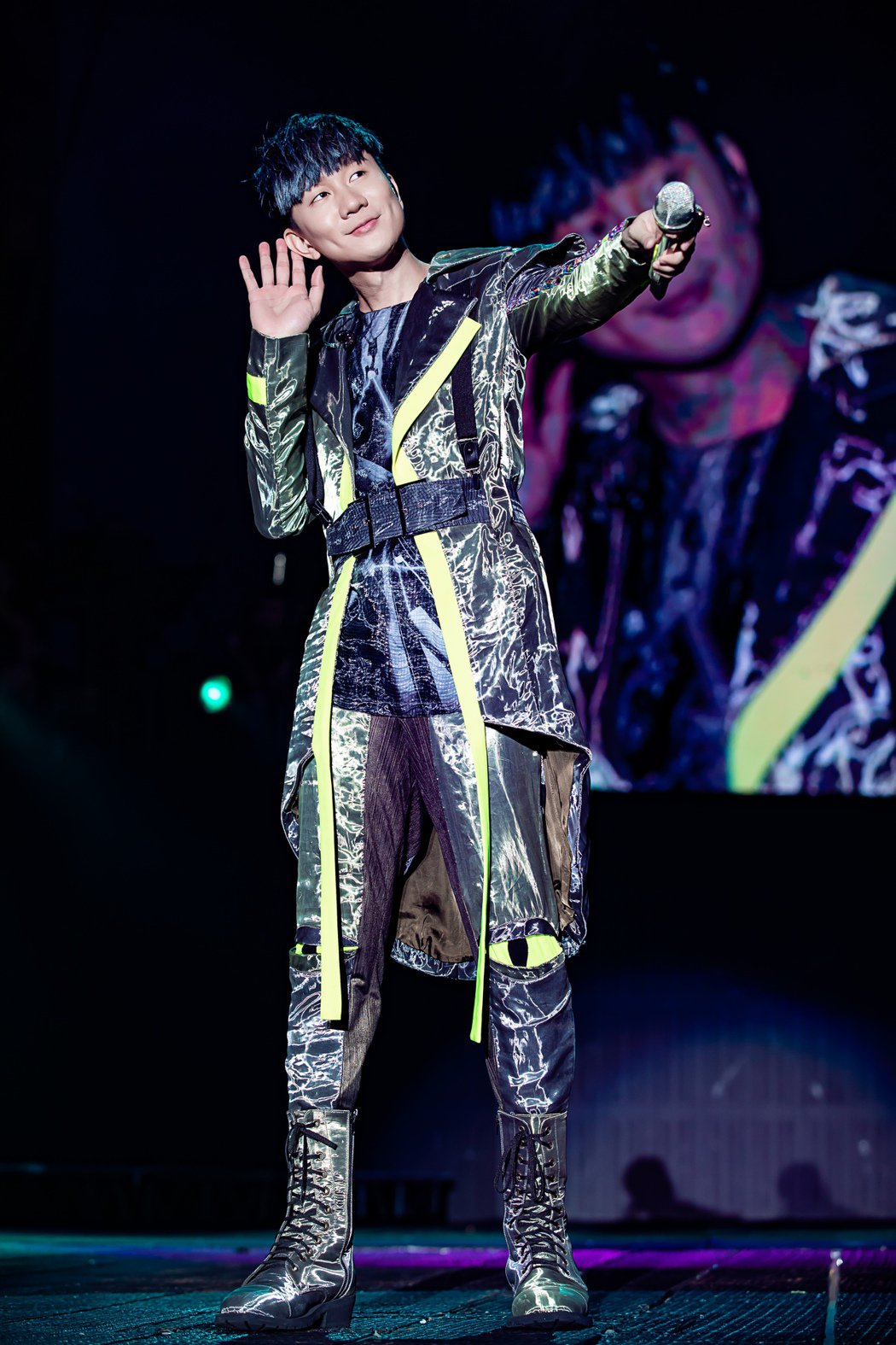 林俊傑很感動歌迷以他的名義做公益。圖/JFJ Productions提供