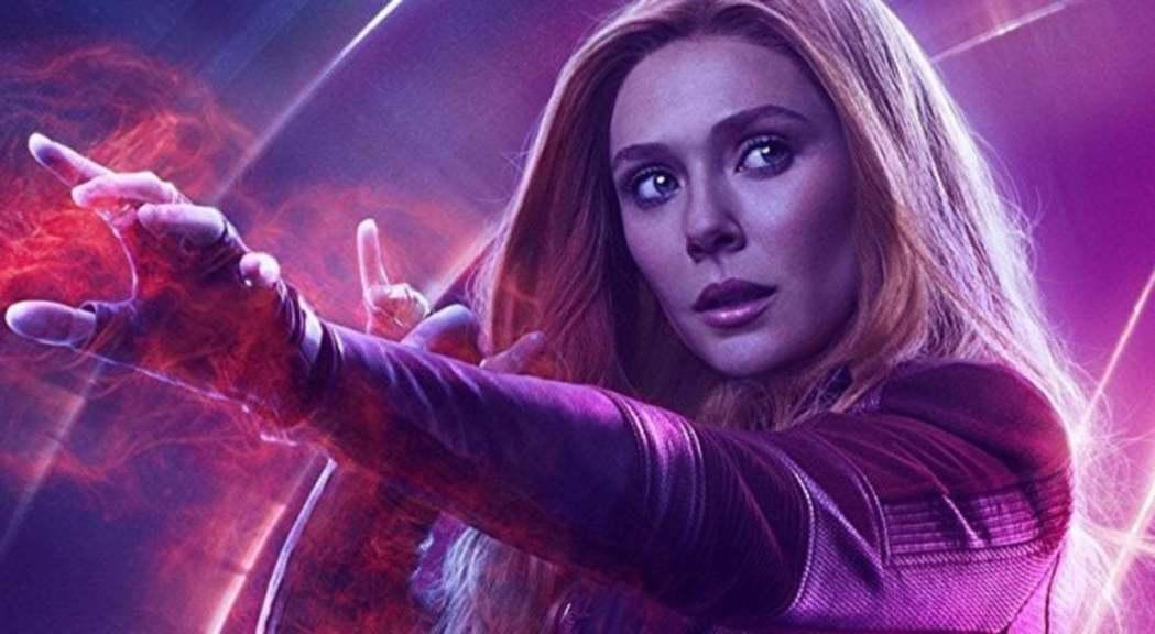 「緋紅女巫」伊莉莎白歐森。圖/迪士尼提供