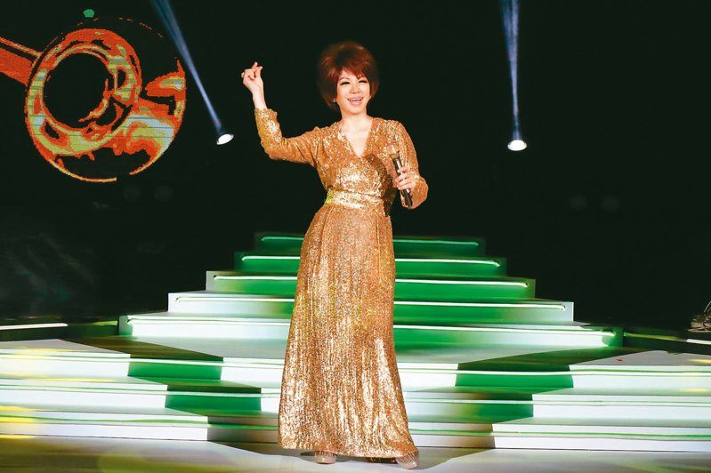 蔡琴「好新琴」演唱會日前在台北連唱3場。 圖/宜辰整合行銷提供