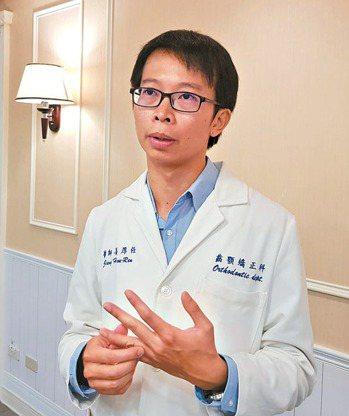 萬芳醫院口腔顎面外科主治醫師姜厚任。 記者翁浩然/攝影