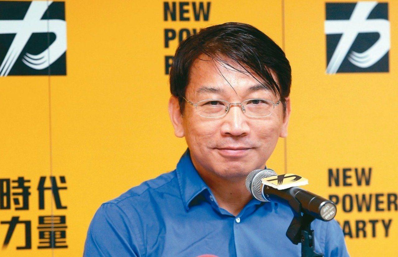 時代力量新任黨主席徐永明對民進黨主席喊話,「隨時可談」兩黨合作。圖/聯合報系資料...