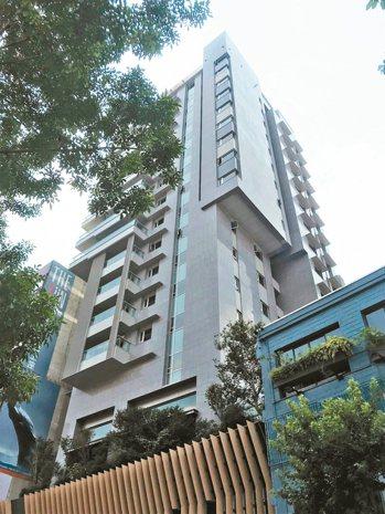 台北市豪宅璞園信義今年揭露有港資出手。 本報系資料照