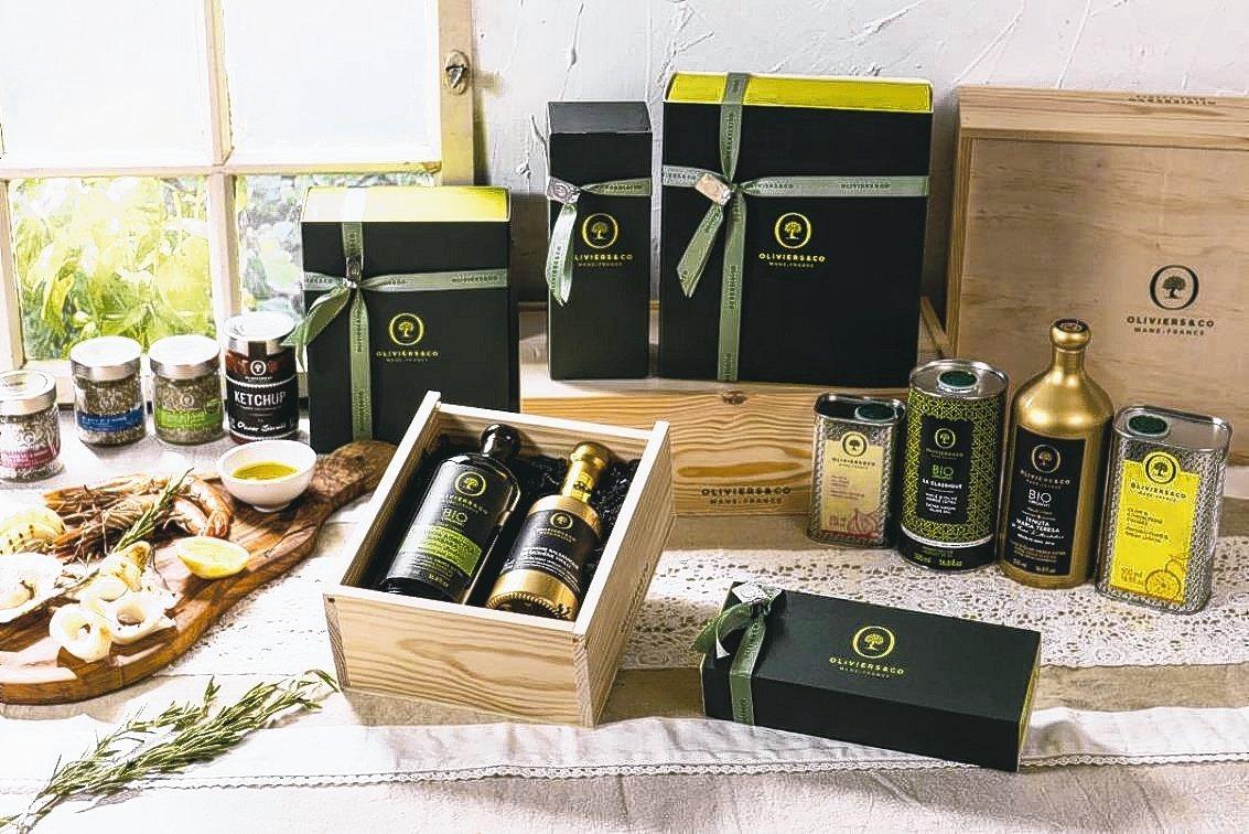 「月圓人緣-地中海食旅」禮盒。 圖/O&CO.提供