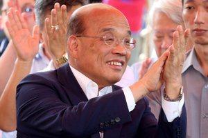 韓國瑜演講中英文夾雜 蘇貞昌:被美國人笑死