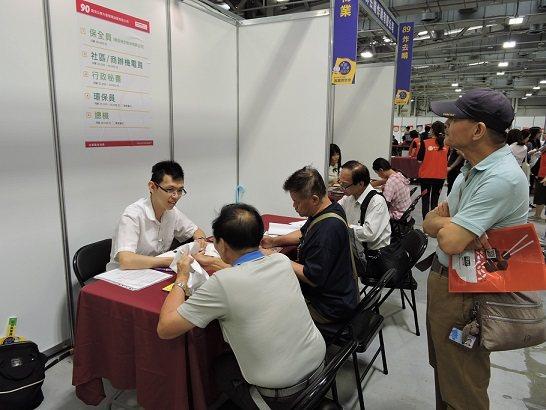 臺北市政府於9月起試行「臺北市銀髮『三顧』就業補助試辦方案」。 北市就服處/提供
