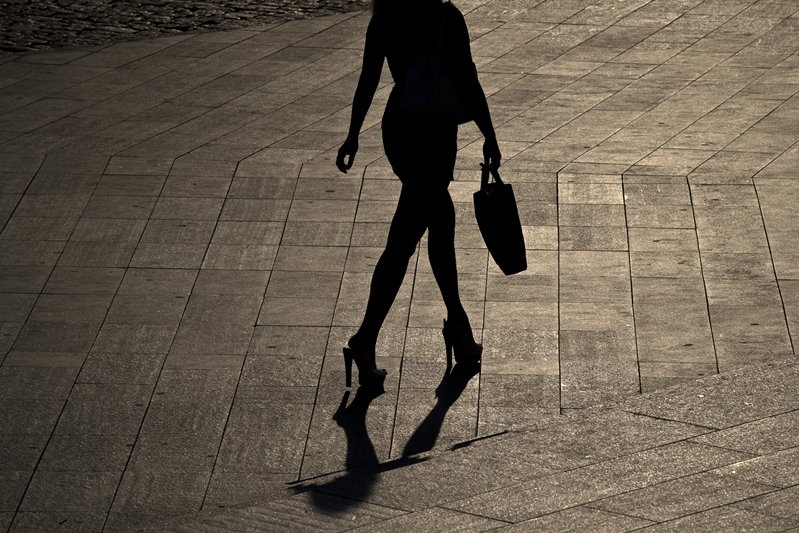 示意圖。美國學者發現,九成跟騷的被害者為女性。 圖/美聯社