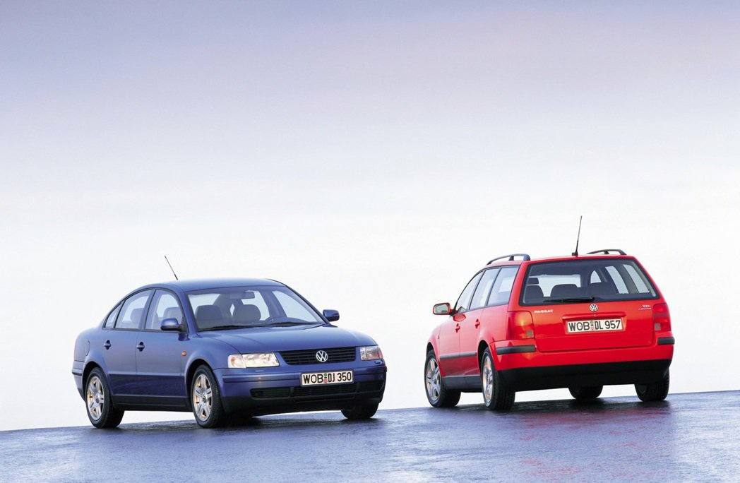 Volkswagen Passat(B5)。 摘自Volkswagen
