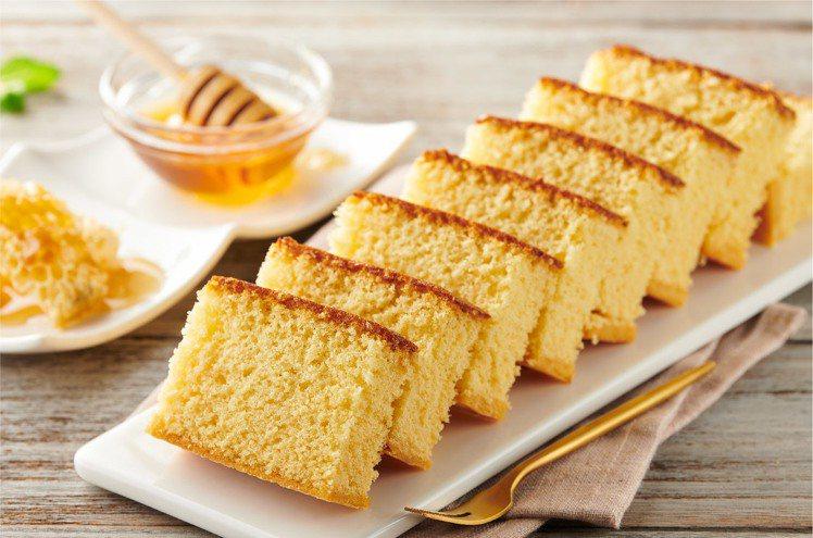 蜂蜜長崎蛋糕。圖/全聯提供