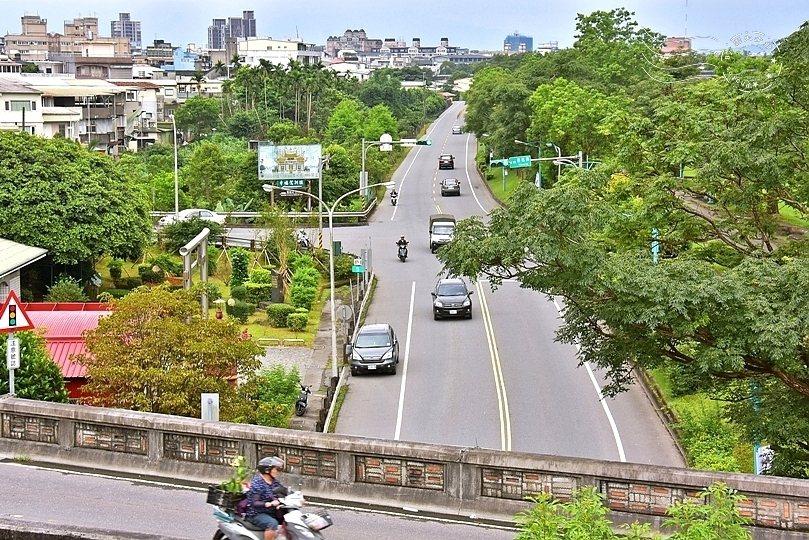 慶和橋另一端。