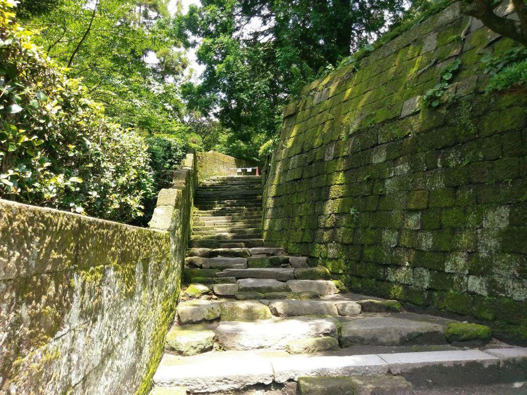 《篤姫》、《西郷どん》的拍攝場景石階梯