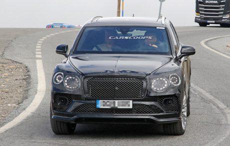 Bentley Bentayga小改款作業啟動 竟有家族跑車的影子!