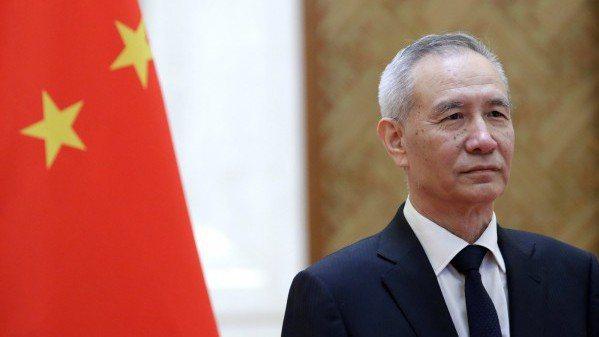中共國務院副總理劉鶴。 路透