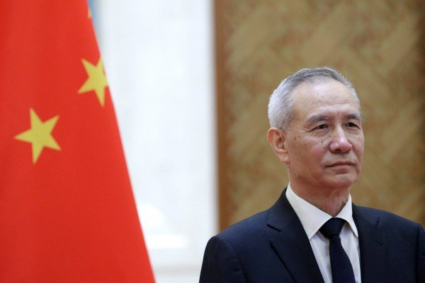 中共國務院副總理劉鶴。(路透)