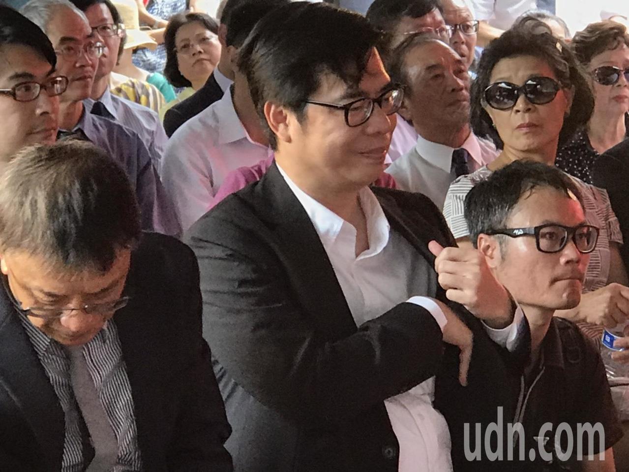 行政院副院長陳其邁。記者馮靖惠/攝影