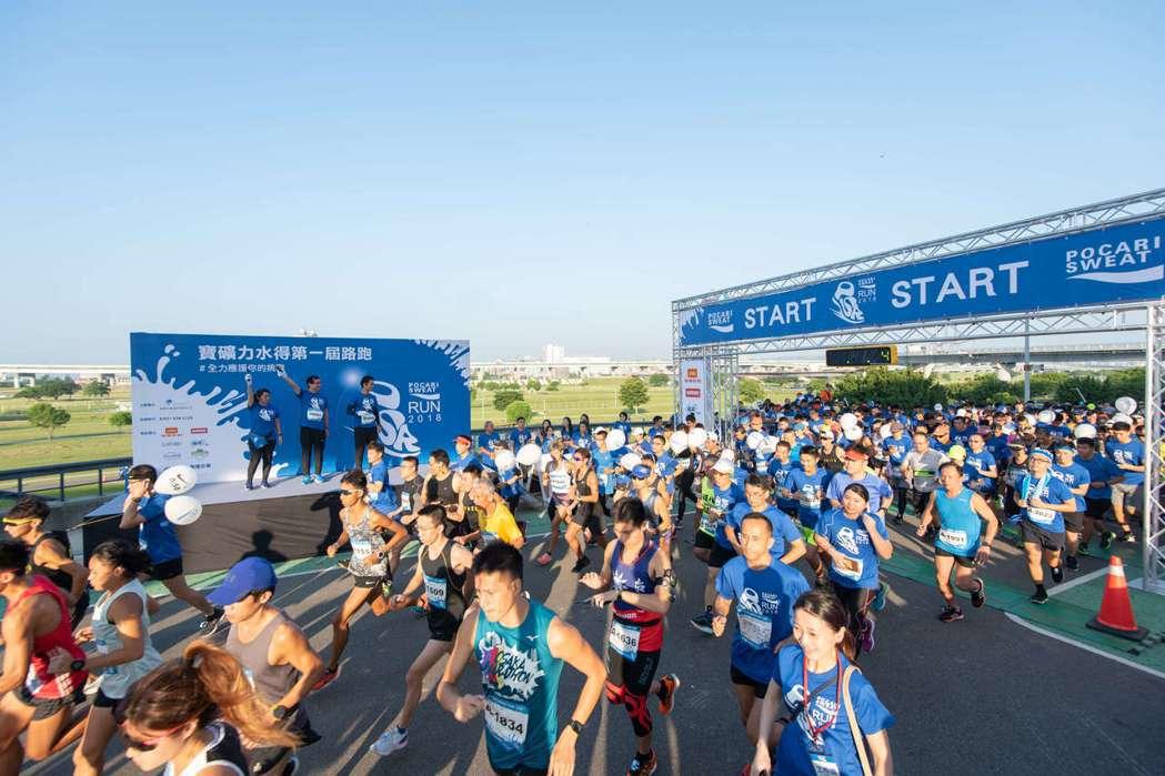 第二屆寶礦力路跑有250萬元大獎可抽,8月31日截止報名。 圖/金車大塚提供