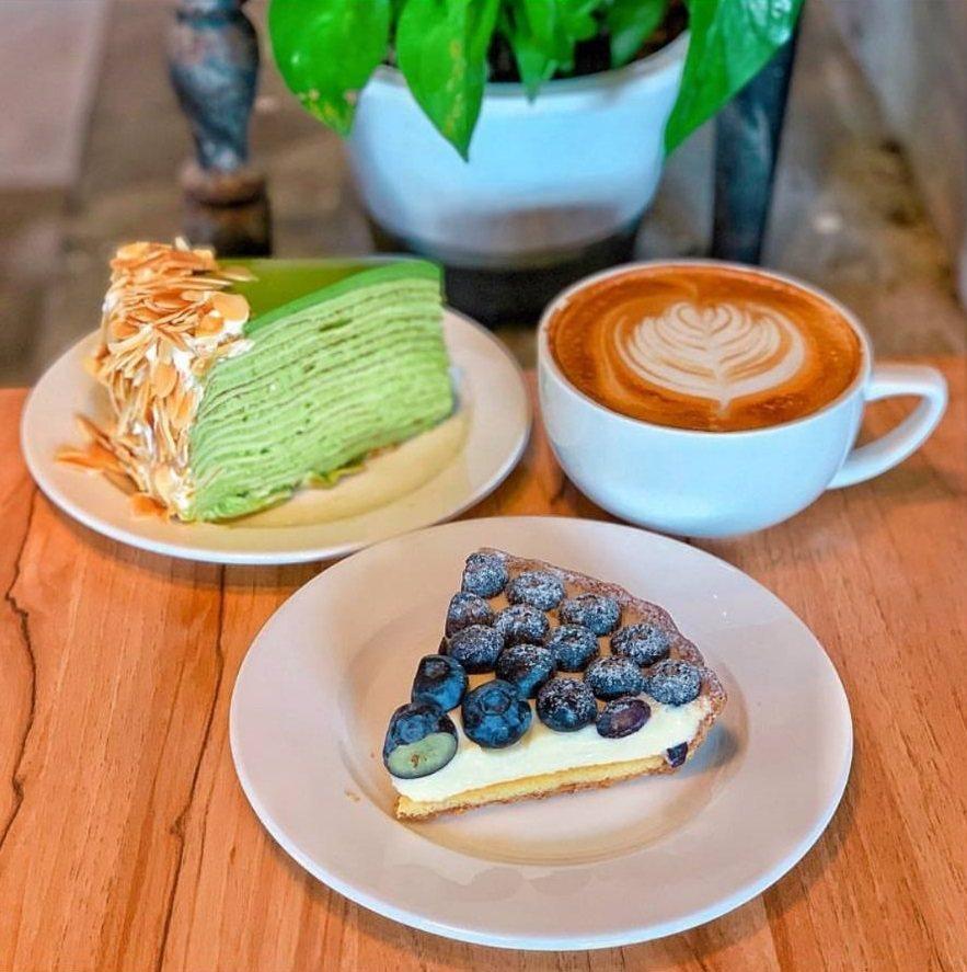 「Gather cafe食聚」的甜點,網友評為CP值高。IG @_.shuang...