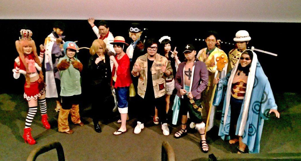 「航海王:奪寶爭霸戰」日前讓粉絲體驗4DX版的震撼。圖/双喜提供