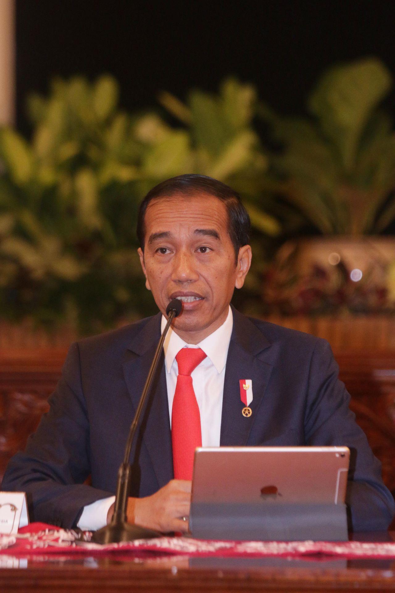 印尼總統佐科威廿六日在記者會宣布,新首都選定在婆羅洲東加里曼丹。法新社