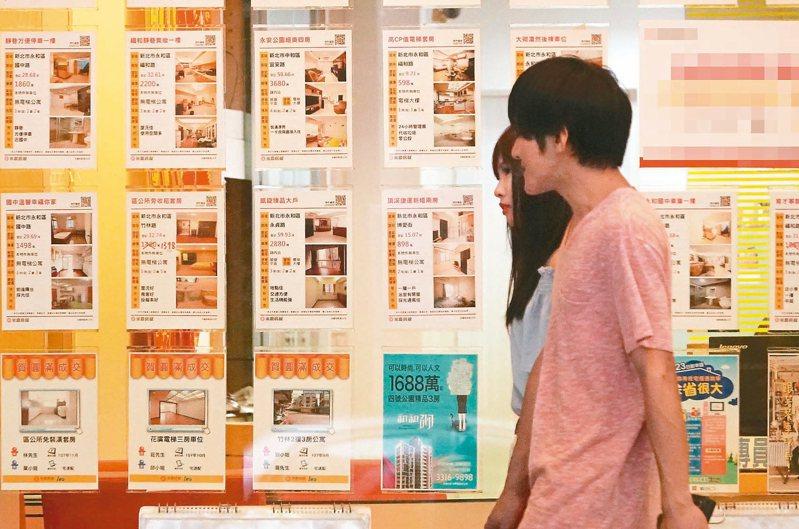 為擴大辦理租金補貼方案,內政部近日預告修正相關辦法。 聯合報系資料照/記者陳正興攝影