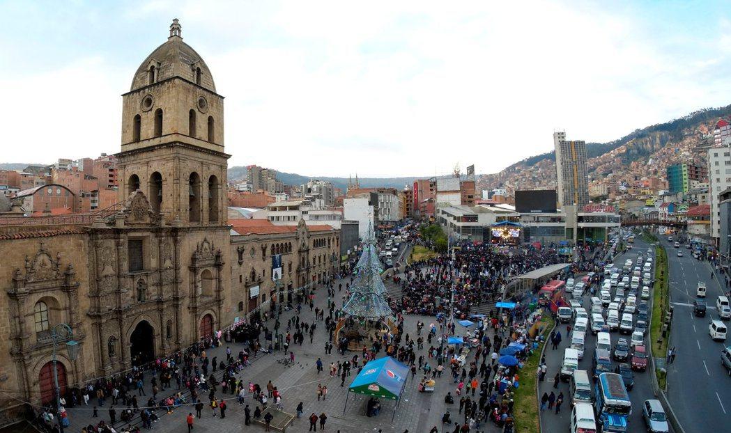 玻利維亞首都拉巴斯。 (路透)