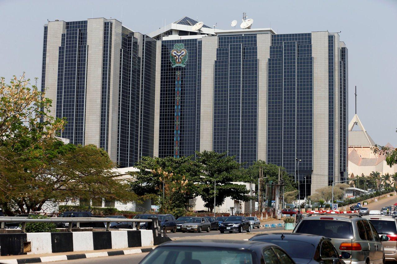 奈及利亞首都阿布加的中央銀行大樓。 (路透)