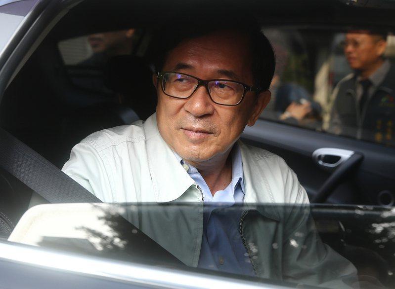 前總統陳水扁表示,時代力 量不排除提名總統候選人,讓總統大選平添不少變數。 記者黃仲裕/攝影