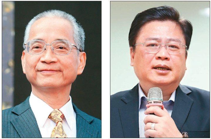 壽險公會現任理事長黃調貴(左)台灣人壽副董事長許舒博