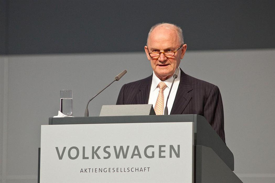 Volkswagen 前CEO Ferdinand Piech。 摘自gtspi...