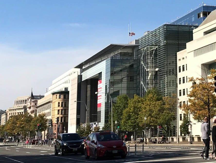 华府新闻博物馆将在今年底吹熄灯号。(记者许惠敏/摄影)