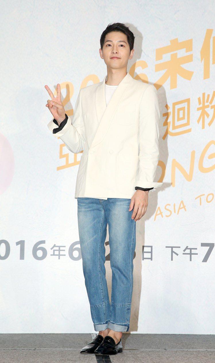 宋仲基。 圖/聯合報系資料照、摘自tvN