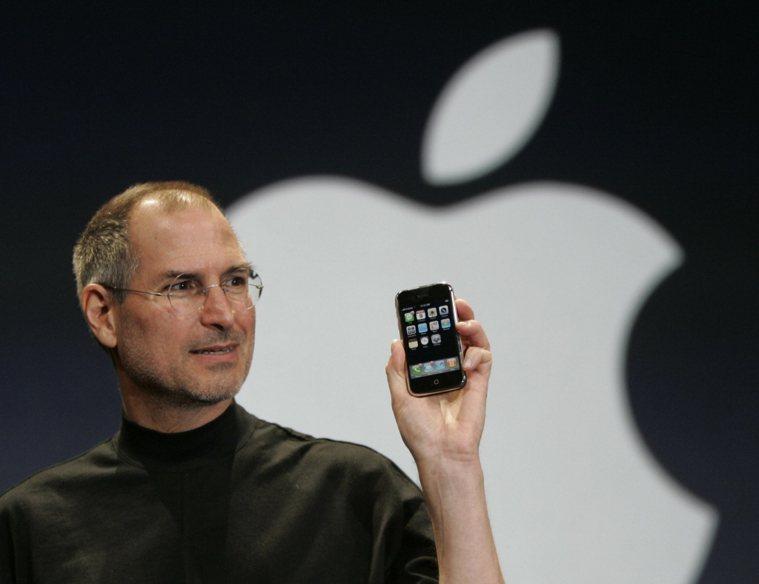 已故蘋果共同創辦人賈伯斯。 美聯社