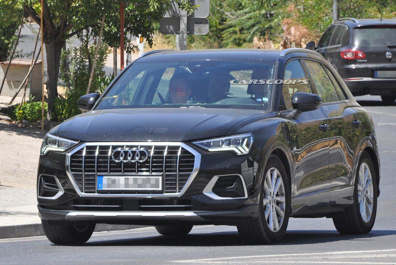 Audi Q3又出現測試車 葉子板上有個洞?