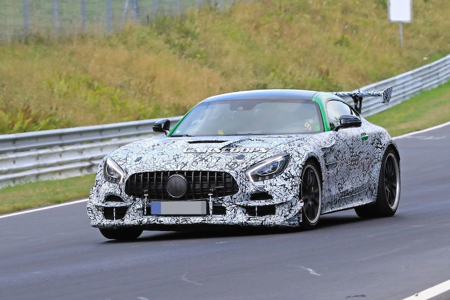 Mercedes-AMG GT R Black Series現身紐柏林 車尾那塊可不是大型曬衣架!