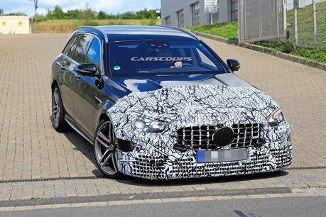 Mercedes-AMG E63 Estate小改款測試車 現蹤紐柏林!