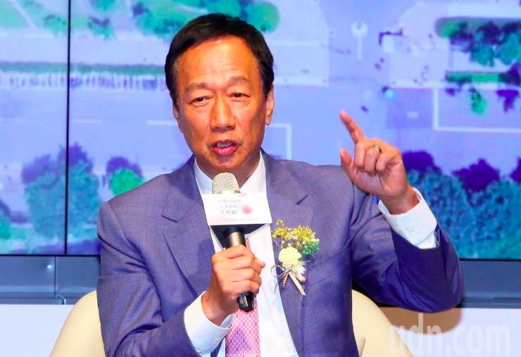 鴻海創辦人郭台銘。圖/本報資料照片