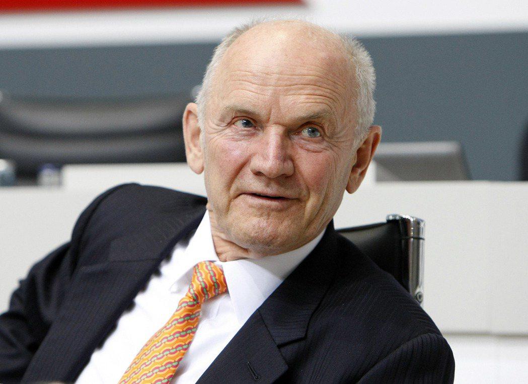 福斯汽車前董事長暨前執行長皮耶希逝世,享壽82歲。 美聯社