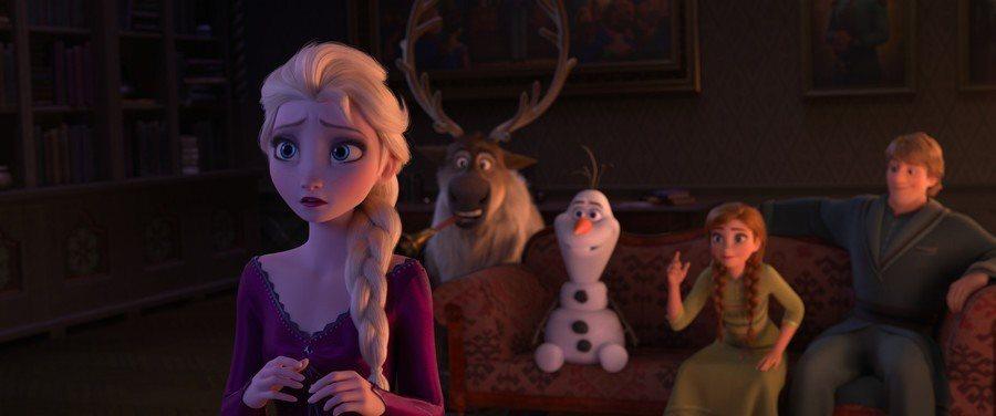 「冰雪奇緣2」是迪士尼今秋重量級動畫大片。圖/摘自twitter