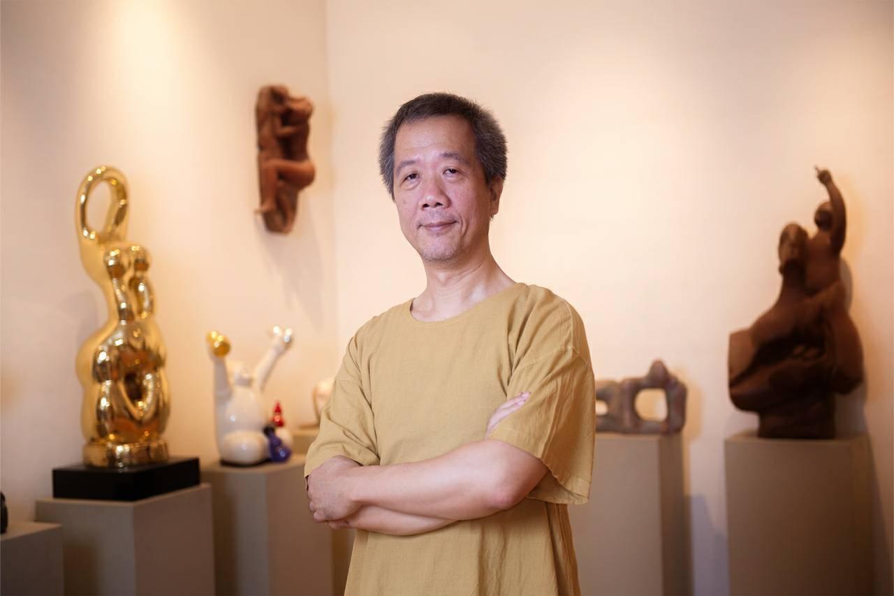 雕塑界的言創大師陳定鴻,2019年全新雕塑系列作品發表「漫步東方·遇見幸福」,將...