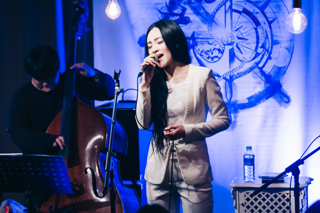 文珽逅周末在台開唱。圖/Delight Music提供