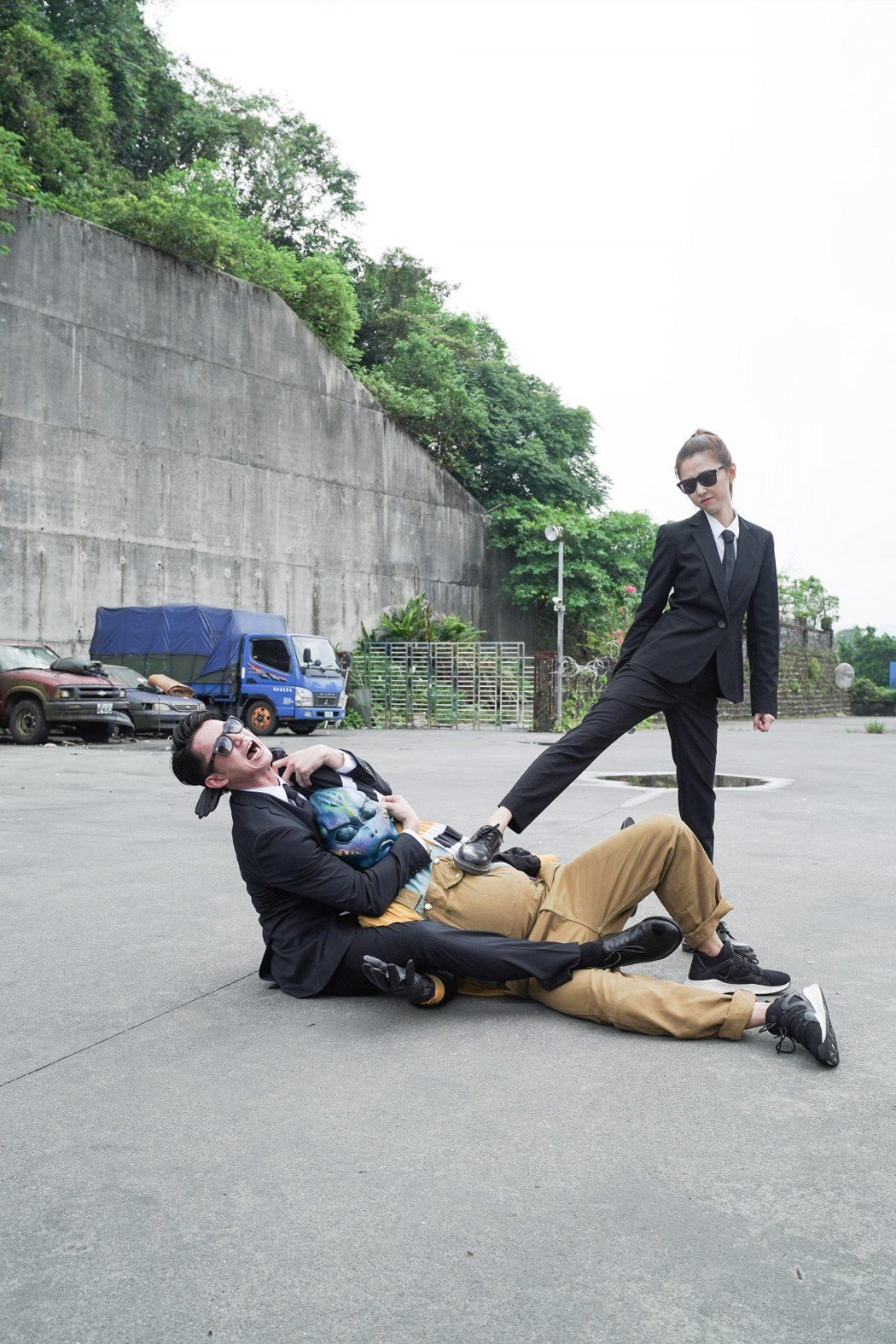 吳慷仁、邵雨薇客串「第九分局」。圖/甲上提供