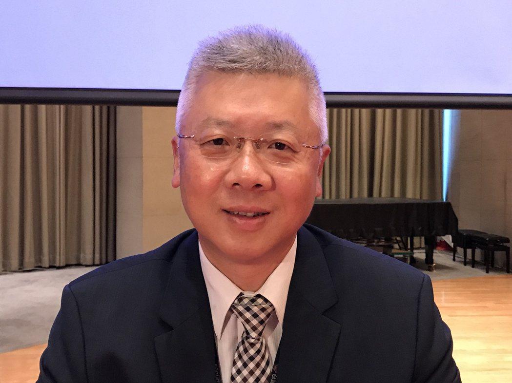 台新金控總經理林維俊。記者陳怡慈/攝影