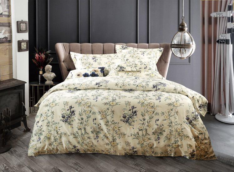 Sanderson Primrose雙人四件式床組/11,800元。圖/日比提供
