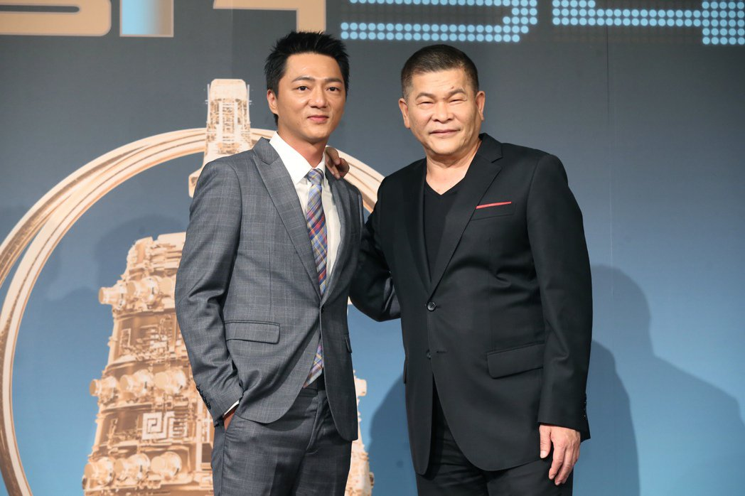 藍葦華及彭恰恰出席「電視金鐘獎入圍名單公布記者會」。記者徐兆玄/攝影