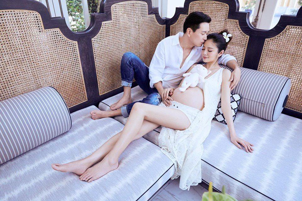 安以軒和老公。圖/擷自臉書