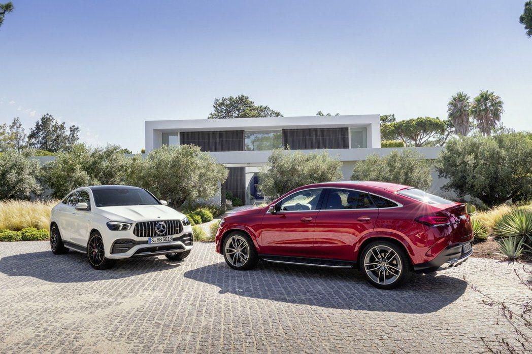 新世代Mercedes-Benz GLE Coupe與Mercedes-AMG ...
