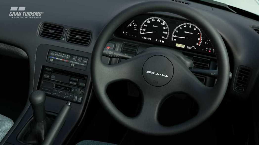 1990 Nissan Silvia K's Dia Selection內裝。...