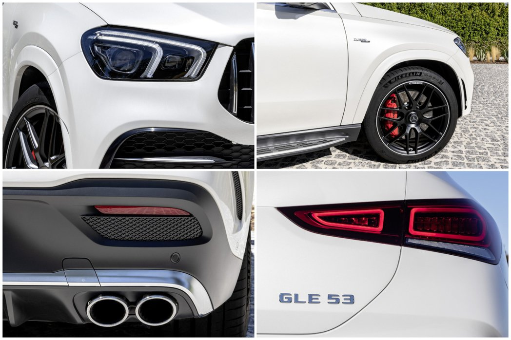 新世代Mercedes-AMG GLE 53 4MATIC+ Coupe外觀特色...