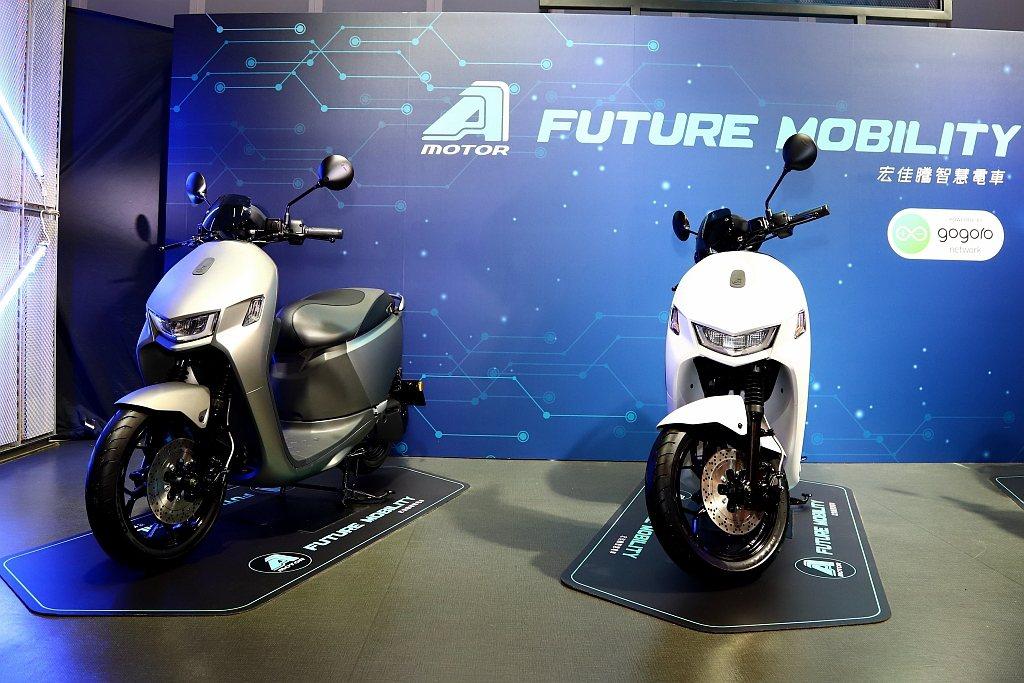 宏佳騰智慧電動機車Ai-1 Sport於今日(8/28)正式發表。 記者張振群/...